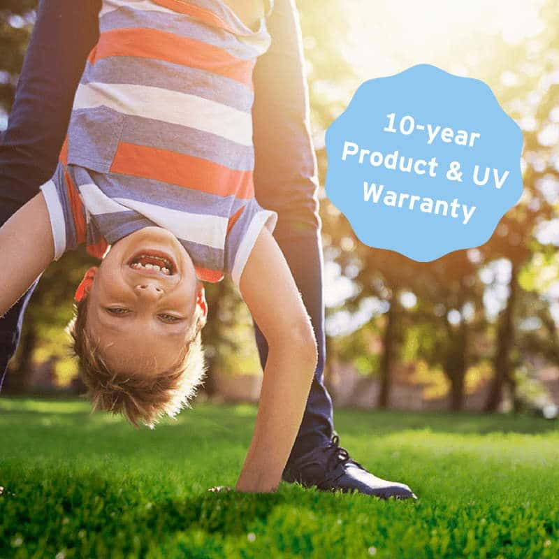 10 Year Warranty on Artificial Grass
