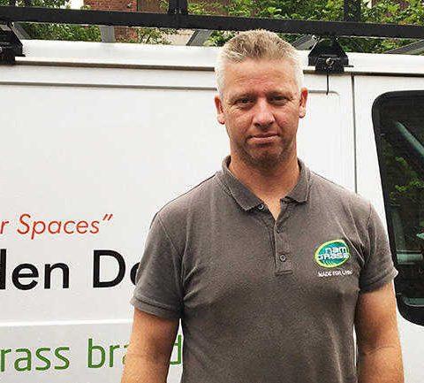 Namgrass approved installer David Walker