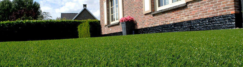 dark green artificial grass
