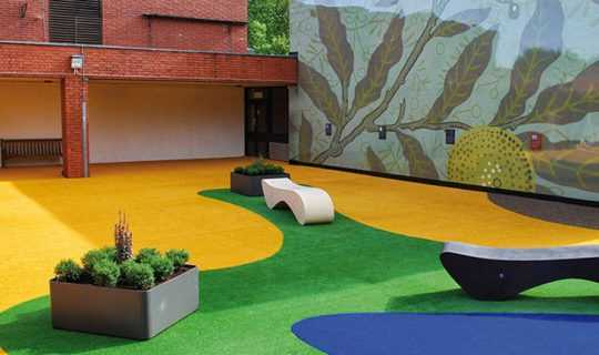 Namgrass school play areas