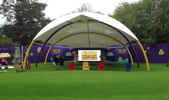 Namgrass Vision laid at CBeebies Land