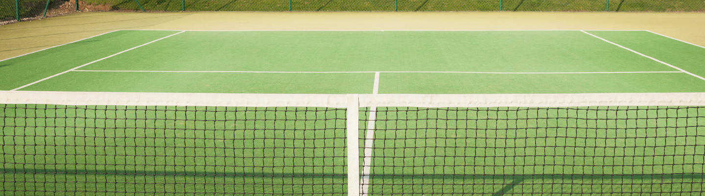 artificial grass tennis court