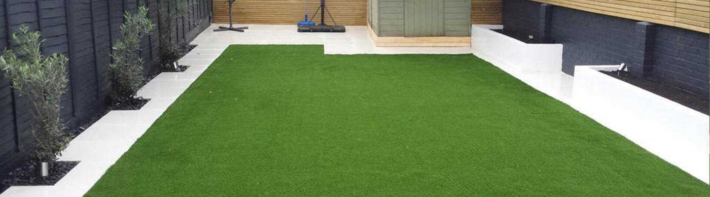 neat artificial grass install