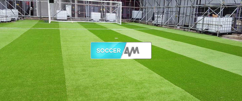 fake grass footbal pitch