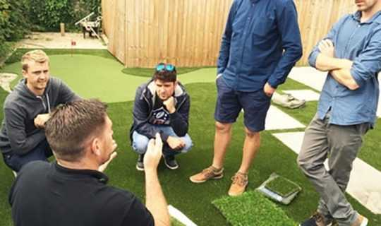 namgrass installer training session