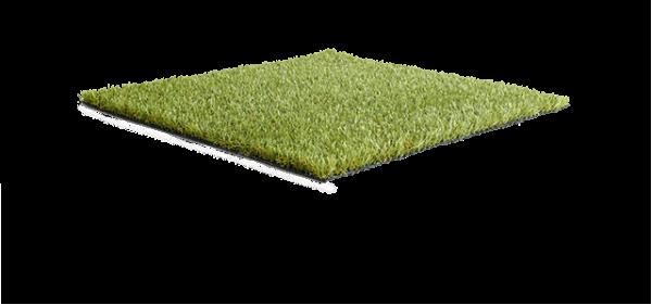 Bright artificial grass