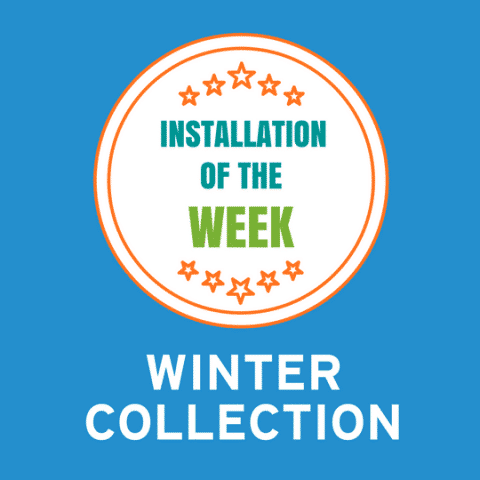 Installation of the Week: Winter Collection