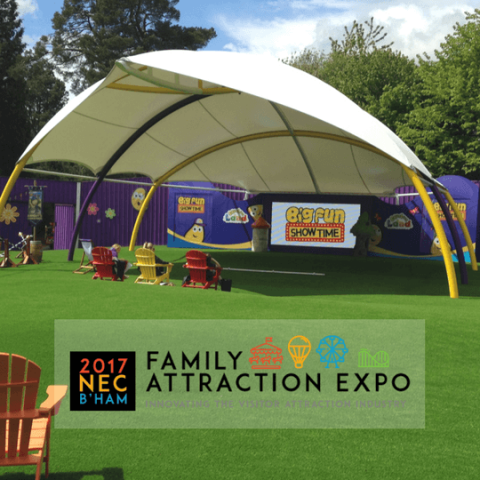 Come see us at Family Attractions Expo 2017