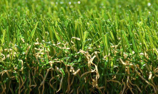 Exbury Bright Artificial Grass side