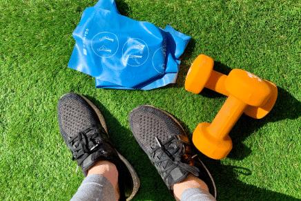 exercise artificial grass