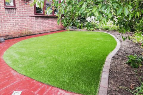 fake grass install