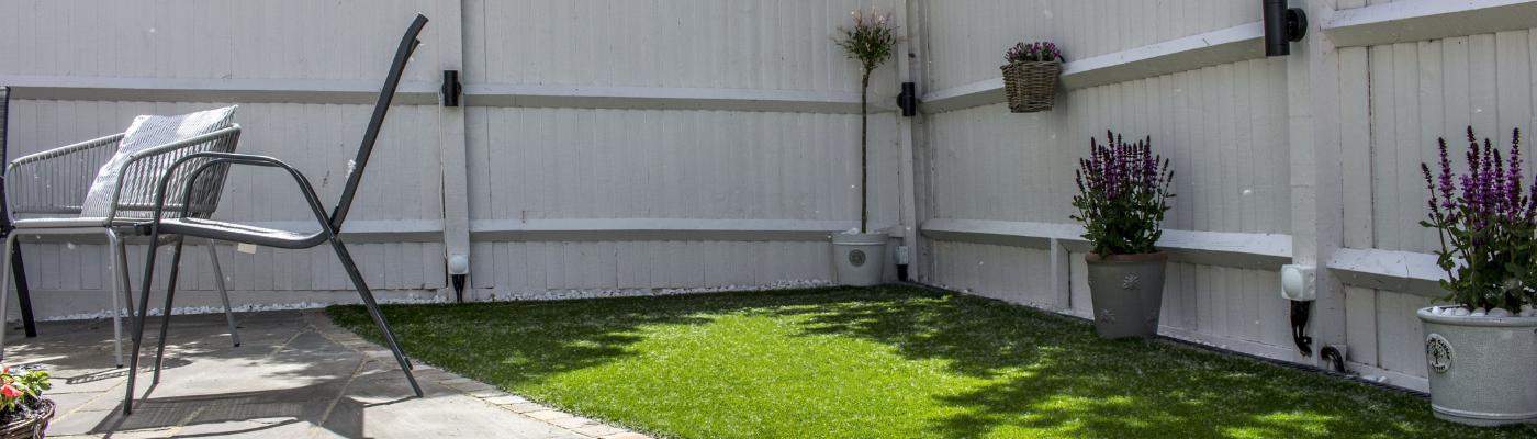 Transforming A Garden With Artificial Grass